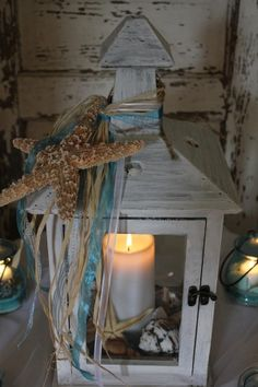 perfect for a beach wedding or take the starfish off and add a sunflower and it would be perfect for a fall wedding