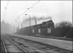 Karlín Railroad Tracks, Train, Strollers, Train Tracks