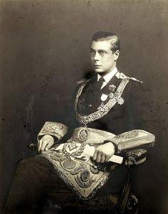 Prince Edward, later King Edward VIII and later still, Duke of Windsor, in his Masonic gear.