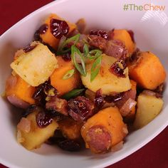 Thanksgiving Hash by Ming Tsai! #TheChew
