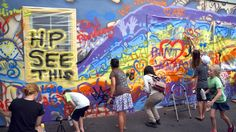 A celebration and funeral for public mural art