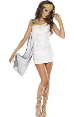 Adult Fever Roman Venus Goddess Costume | Jokers Masquerade