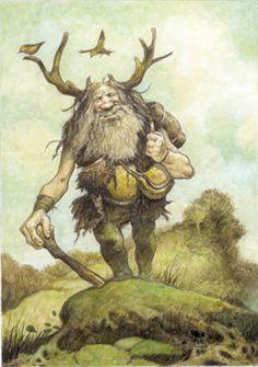 Mountain Troll, Mythwood - The Art of Larry MacDougall: August 2008