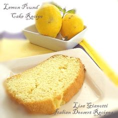 Mom might need this lemon pound cake.  Happy Mothers Day!  ~ Lisa