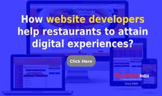 Improve restaurant business with WEBSITE DEVELOPMENT SERVICES from SynapseIndia.   Add result-oriented features to catch user-attention and increase food orders in a wide direction. Website Development Company, Restaurant, Ads, Digital, Business, Food, Diner Restaurant, Essen, Store