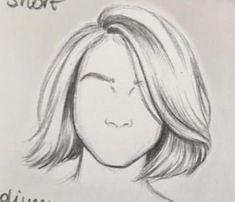 Literally this is so helpful – artofit – Artofit Pencil Art Drawings, Art Drawings Sketches, Easy Drawings, Figure Drawing, Painting & Drawing, Hair Sketch, How To Draw Hair, Drawing Techniques, Art Sketchbook