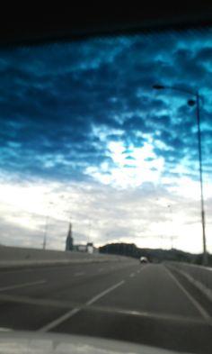 오묘한 하늘