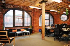 cool startup office space