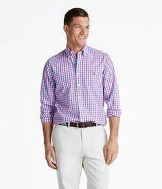 Plaid Vineyard Dress Shirts