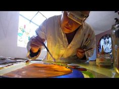 The o 39 jays the medium and videos on pinterest for Pebeo vitrail glass paint instructions