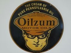 Citizens Speed Motor Oil And Gas Station Sign Reproduction