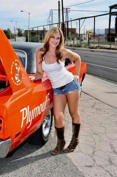 39 Ideas beautiful cars for women hot rods for 2019 Trucks And Girls, Car Girls, Plymouth Superbird, Mopar Girl, Hot Rides, Us Cars, American Muscle Cars, Sexy Cars, Sexy Hot Girls