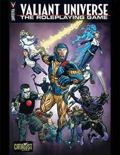 Jump into the Valiant Universe as an existing hero or create your own in this rules-light game.