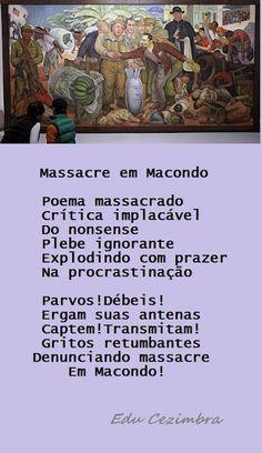Edu Cezimbra:  Poema inspirado no romance 'Cem Anos de Solidão',...