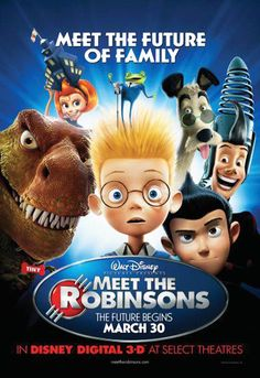 2007 Meet the Robinsons The Evolution of Walt Disney Movie Posters from 1937 to 2013 Images) Walt Disney Animation, Walt Disney Animated Movies, Animated Movie Posters, Disney Movie Posters, Pixar Movies, Kid Movies, Family Movies, Cartoon Movies, Movie Tv