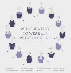 What Jewelry with What Neckline