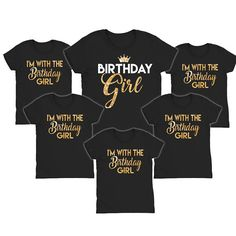 Birthday Girl Shirts Im With The Party Crew View Item Details For Order Instructions