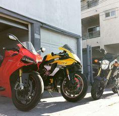 Ducati 1199 Panigale vs Yamaha R1