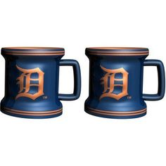 MLB Detroit Tigers 2-Pack Mini Mug, Multicolor