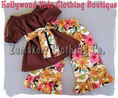 Custom Boutique Clothing Brown Peasant Dress by ZamakerrClothingCo, $42.99