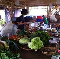 The newest #Organic #Market of #Ubud - Kafe Topi #organicmarket on Sundays - #organicbali #organicproduce #rawfoodbali