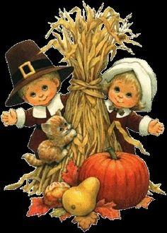 Precious Moments Thanksgiving Clip Art | Found on amarnaimagens.blogspot.se