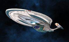 Enterprise F from Star Trek Online.