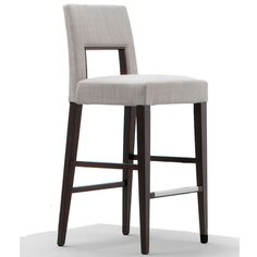 Natural fabric wenge bar stool at Juliettes Interiors a large collection of Classical Furniture.  sc 1 st  Pinterest & Rosewood and Leather Bar Stools Denmark 1960s | Leather bar ... islam-shia.org