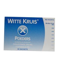 Witte Kruis Pijnstillend poeder.