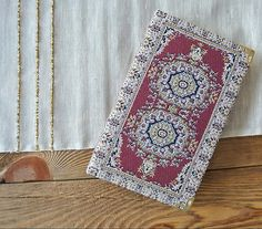 Great Gift Notebook Travel Journal Diary Kilim Rug Carpet Covered Vintage Style