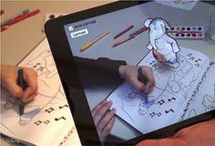 Uma das maiores novidades que a Disney Research trará em tecnologia é o app para colorir em realidade aumentada. Entre aqui e conheça mais sobre!
