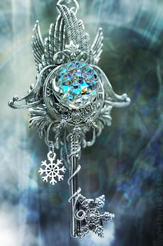 Ice Key necklace, by Keyper's Cove