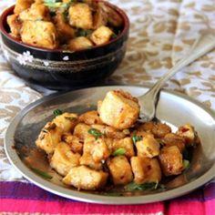 Hot and Sweet Lime Tofu