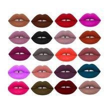 Mulheres Maquiagem À Prova D' Água Fosco Veludo Batom Líquido Brilho Labial de Longa Duração Cosméticos Frete Grátis alishoppbrasil