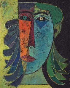 Oswaldo Guayasamín (1919-1999), Primavera, 1956, Oil on canvas, 92.1x72.4 cm