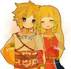 Chibi Zelda and Link, The Legend of Zelda: Skyward Sword
