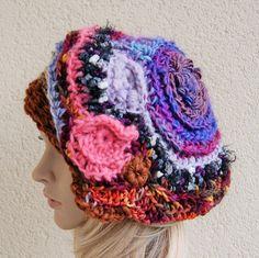 Asymmetric absolutely crazy hat crazy от handmadestreet101 на Etsy