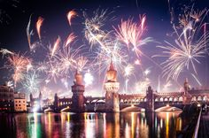 """willkommen-in-germany: """"Silvester fireworks in Berlin - New Year's Eve """" Berlin, Pastell Wallpaper, Week End Amsterdam, Beautiful World, Beautiful Places, Rome, Madrid, Celebration Around The World, International Real Estate"""
