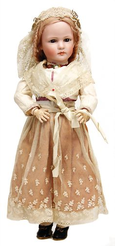 absolutely rare character doll, marked SIMON & HALBIG/IV, Puppen & Spielzeug Museum