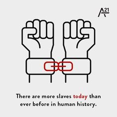 We exist to abolish modern-day slavery. Together, we can end #humantrafficking.