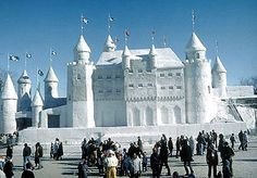 The Winter Carnival - Castle of ice -Quebec, Winter of '76, Great Memories!