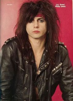 Phil Lewis L. A. Guns