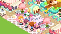 Bakery story app game
