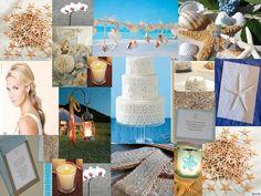 Beach theme wedding ideas