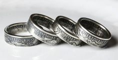 DIY Idea - Make Rings out of Coins