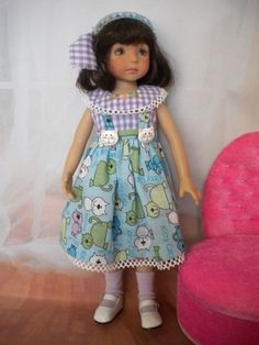 """Kitty Cat"" Outfit Dianna Effner Little Darling 13"" Dolls 