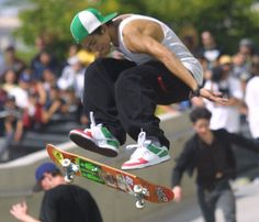 Would be sure to have in-store promotions and events where professional skateboarders would make appearances to draw in customers who skate and would be inclined to purchase items throughout the store marked with a 10% discount.
