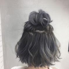 Japanese Hairstyle Hair Idea - All For Hair Color Trending Hair Styles 2016, Medium Hair Styles, Curly Hair Styles, Oval Face Hairstyles, Short Thin Hairstyles, Hair Streaks, Aesthetic Hair, Hair Dye Colors, Dye My Hair
