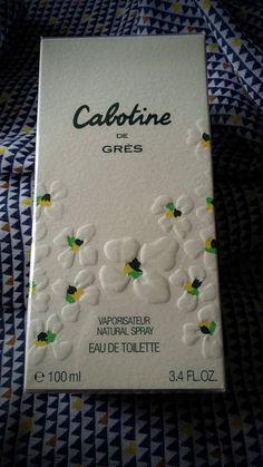 Cabotine de Grès eau de toilette sous blister 100 ml 28.90 euros