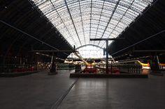 Eurostar-St Pancras station-@LONDON2014